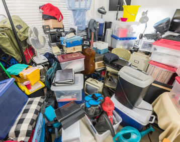 cluttered mess